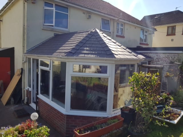 P Shaped Victorian Conservatory Roof Conversion - Leka Systems