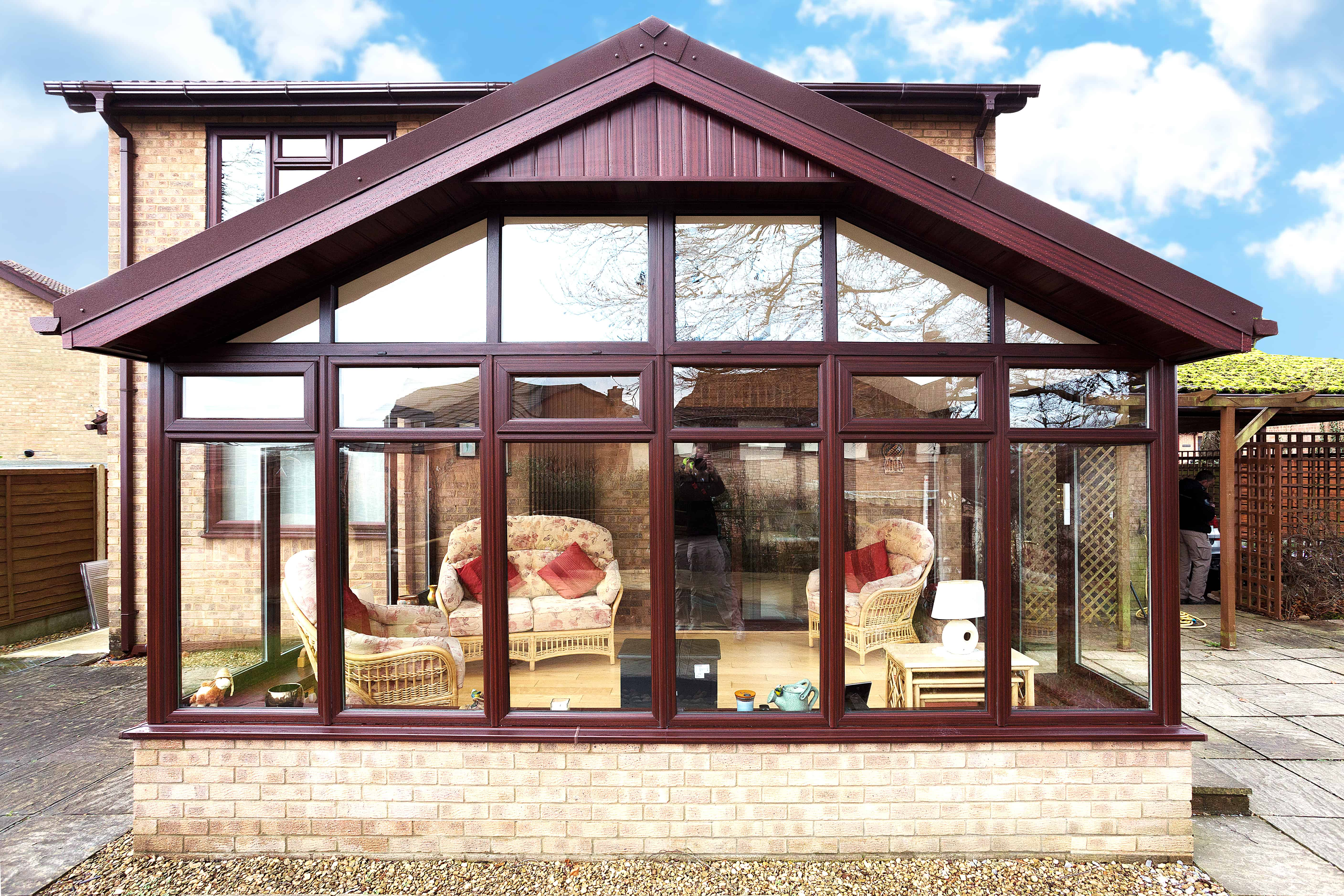 Gable Ended Conservatory Roof Replacement Leka Systems