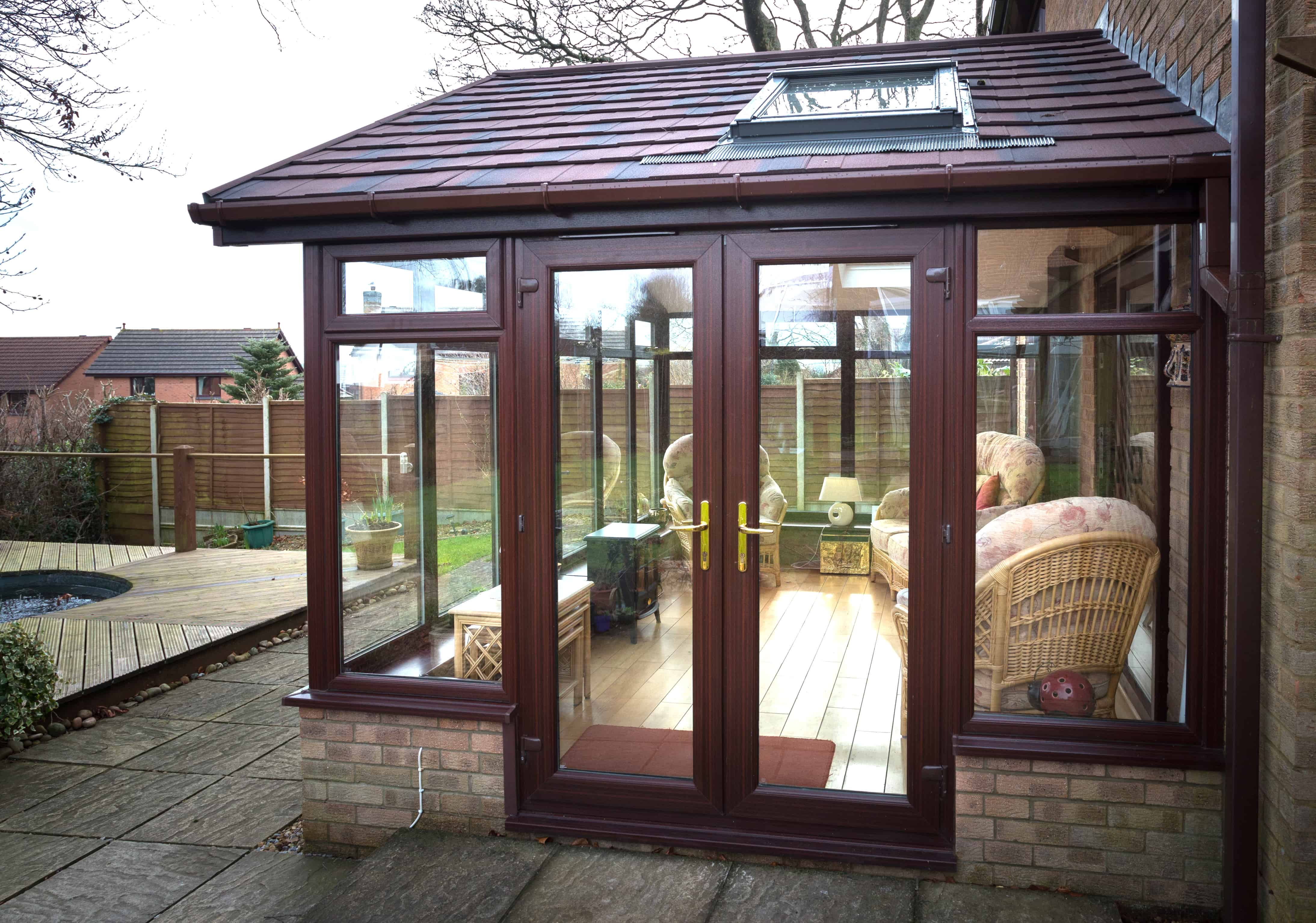 Conservatory Roof Conversion >> Gable Ended Conservatory Roof Replacement - Leka Systems