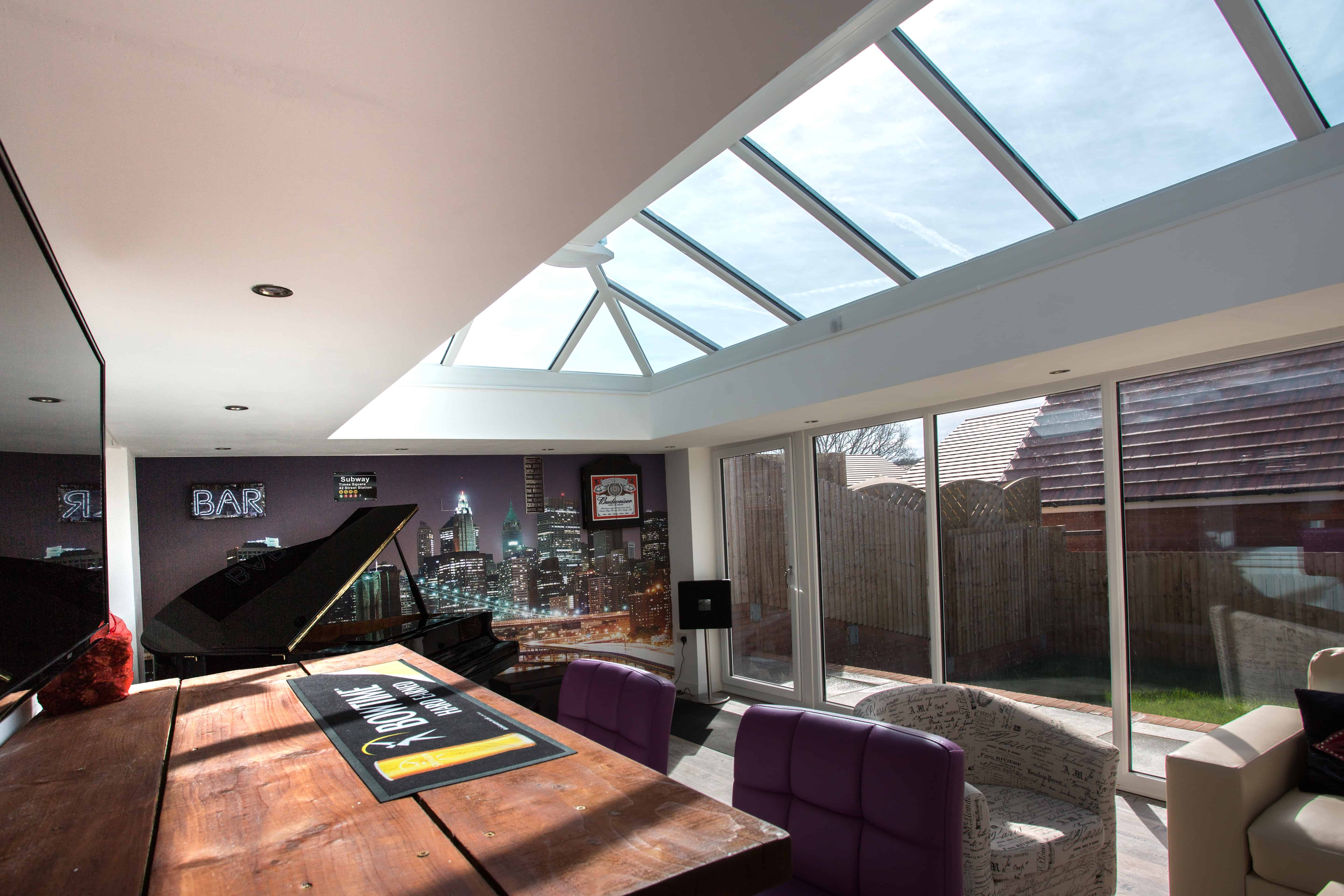 Orangery Flat Roof Conversion Kit Leka Systems