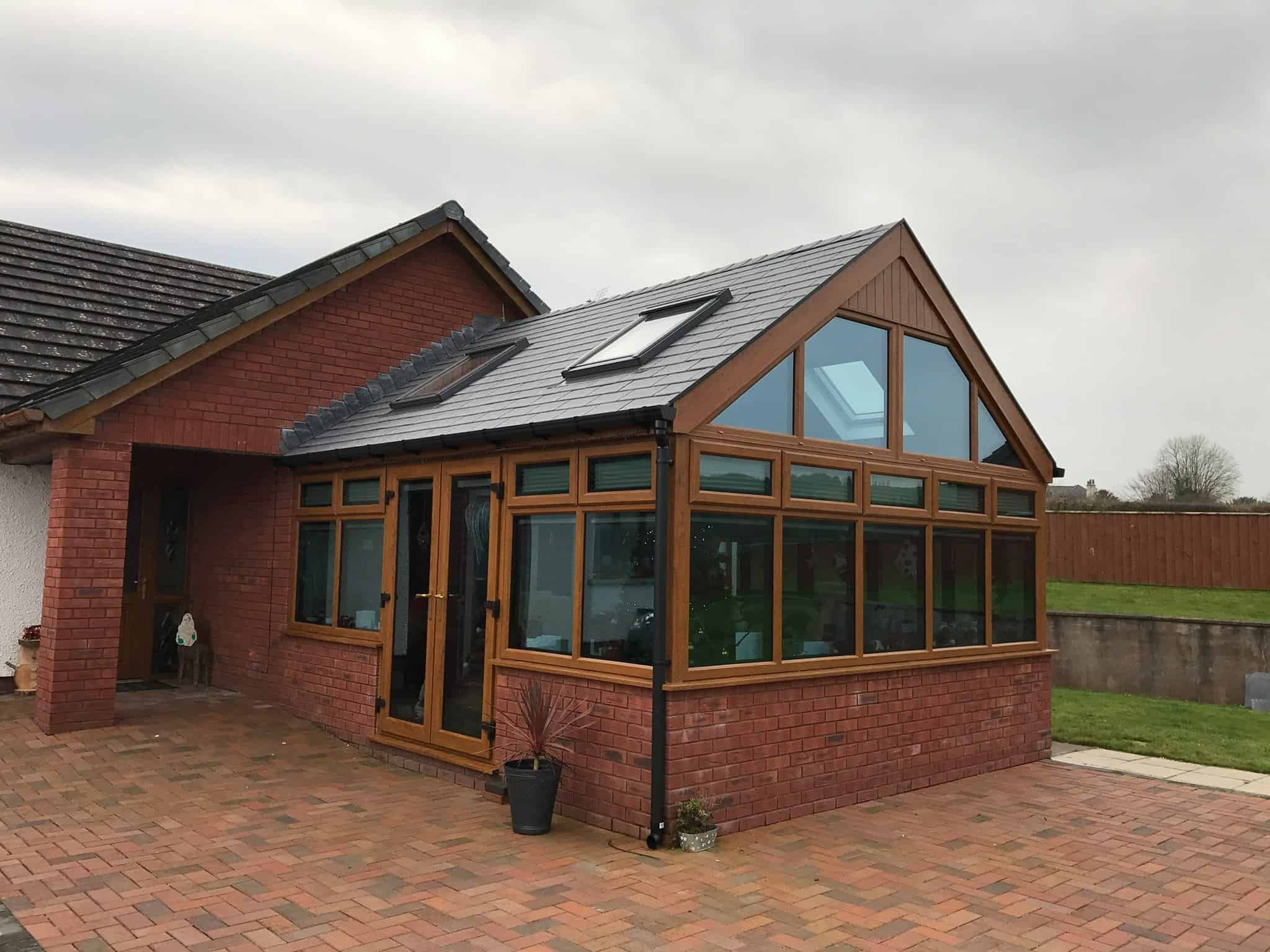 Gable End Conservatory Roof Conversion Leka Systems