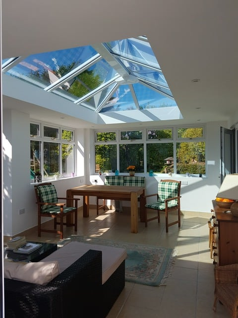 orangery roof interior photo