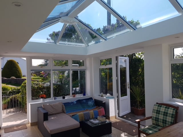 orangery with furniture in situ