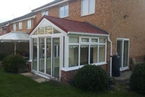 Gable Fronted Conservatory Roof Conversion