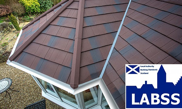 LABSS approved solid conservatory rood